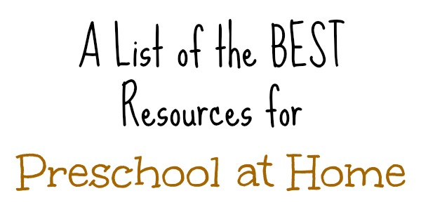 Homeschool Preschool PreK for Free at The Frugal Homeschooling Mom Best Resources