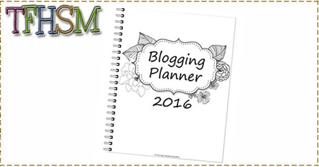 The Frugal Homeschooling Mom blogging planner calendar