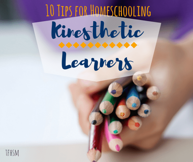 10 Tips for Homeschooling Kinesthetic Learners the frugal homeschooling mom TFHSM f