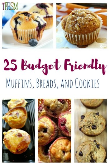 Frugal Easy Recipes for Muffins, Breads and Cookies - Kids Can Make