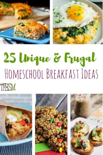 Frugal Homeschool Breakfast Ideas