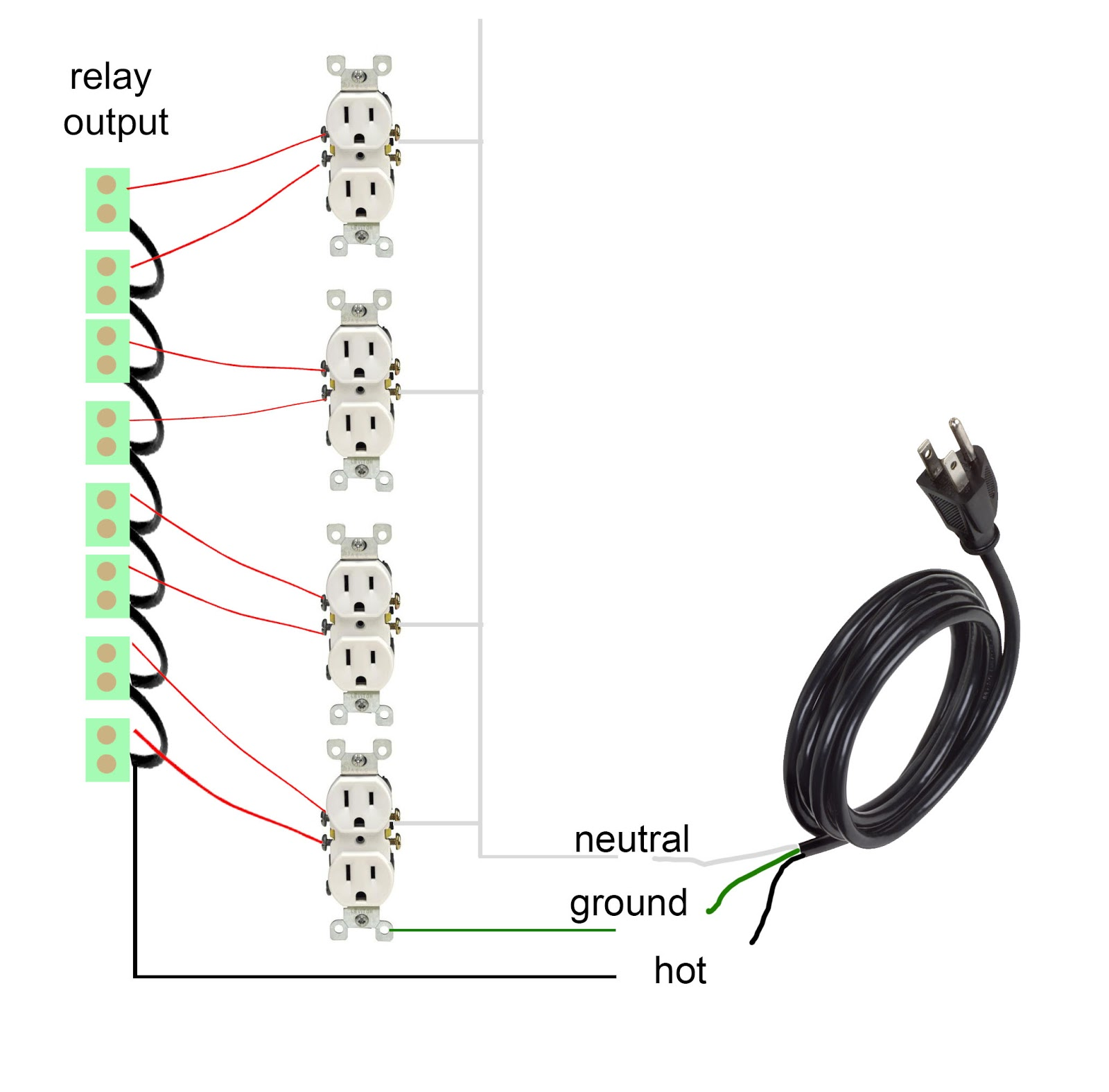 Led Christmas Light Circuit Diagram Together With Cat 5 Cable Wiring