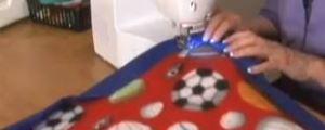 איך לתפור שמיכה לפיקניק