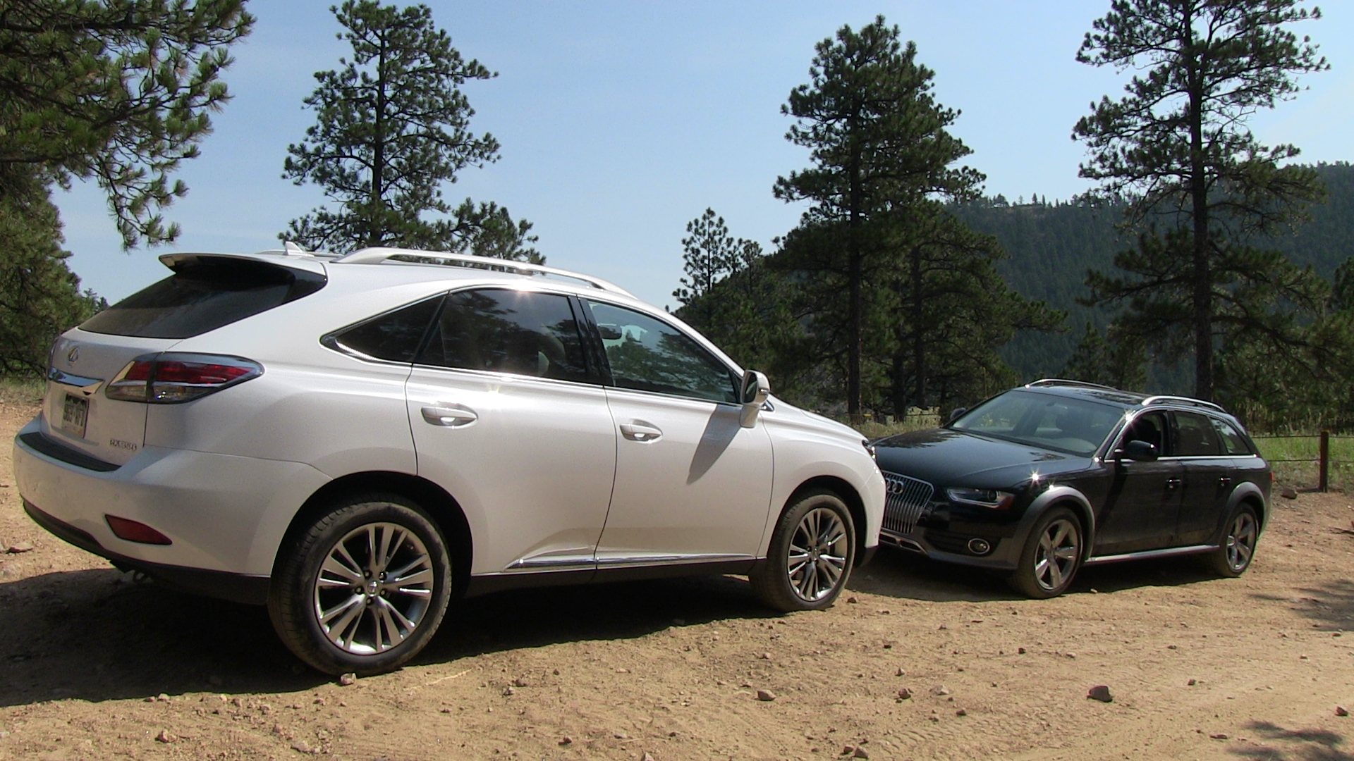 2013 Audi Allroad vs Lexus RX 350 f Road Mashup Drive & Review
