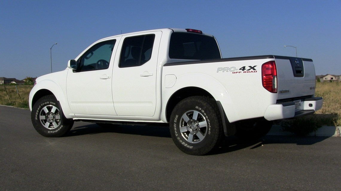 2012 nissan frontier pro-4x: finding the sweet spot | tflcar