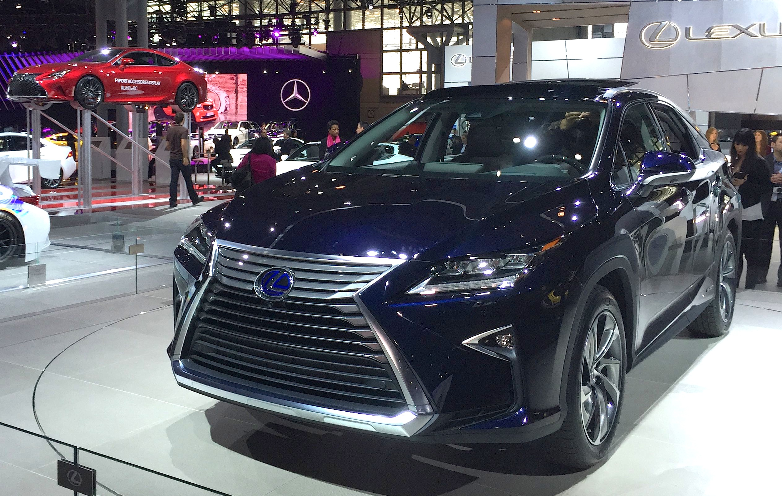 2016 Lexus RX 450h and RX 350 Debut at the 2015 New York Auto Show