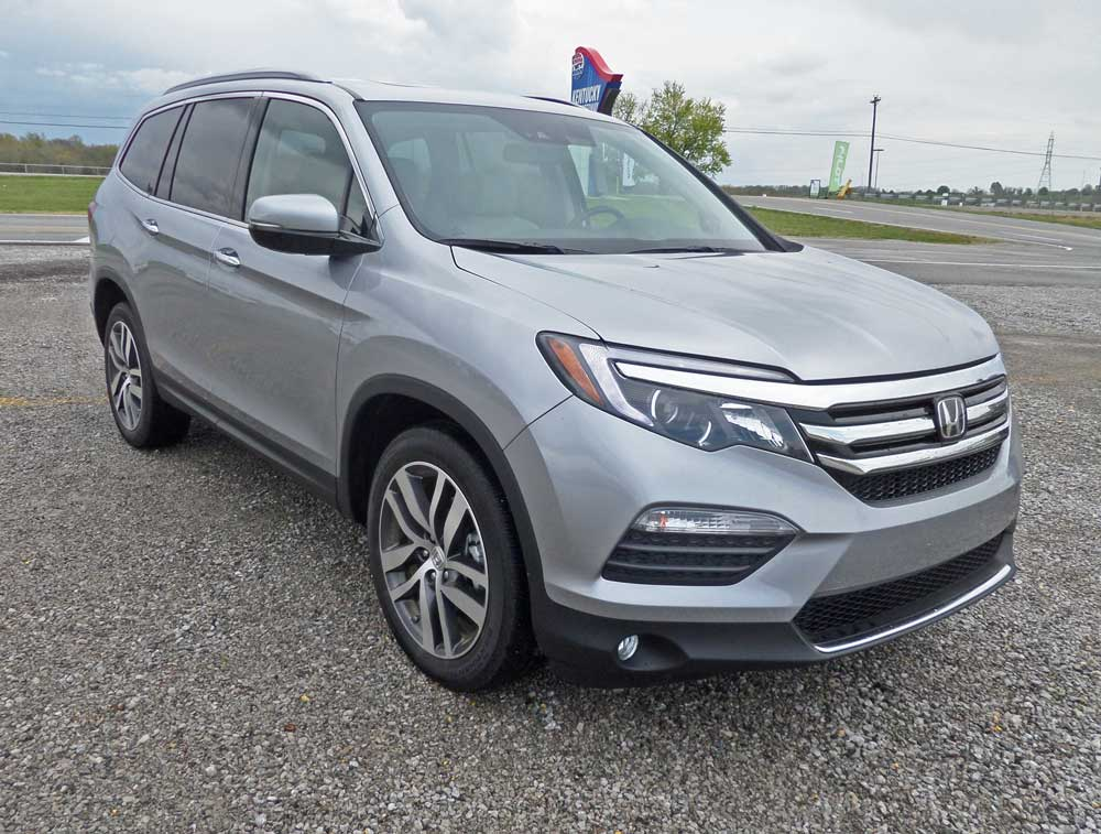 2016 Honda Pilot Touring And Elite Moving On Up Review