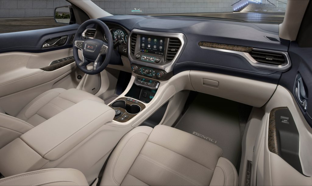 2020 GMC Acadia Whats New And Whats Not The Fast Lane Car