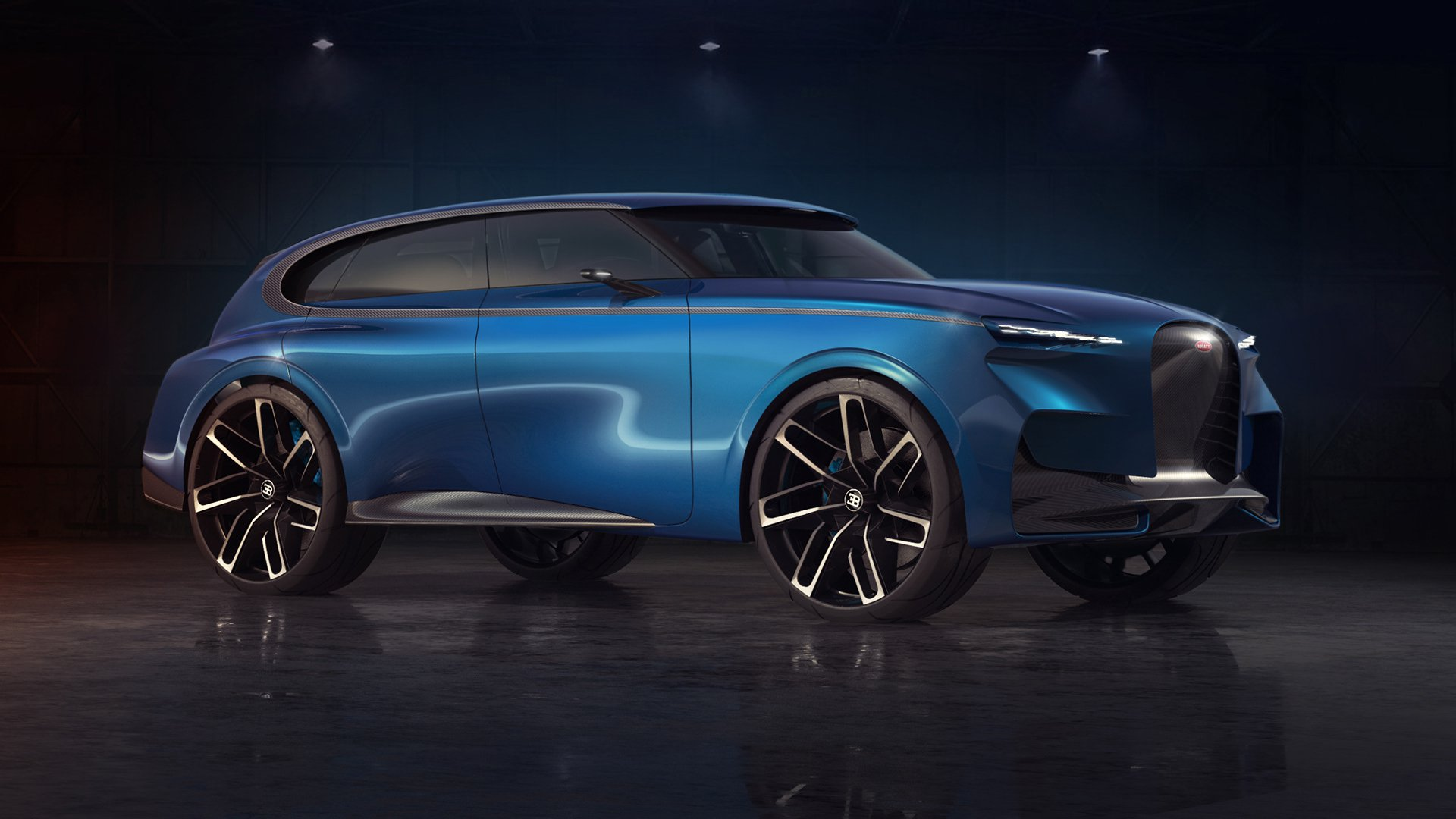 This Bugatti Suv Rendering Looks Cool But Should They