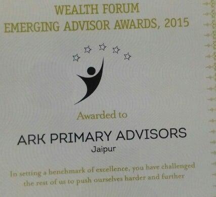 Ark primary advisors award