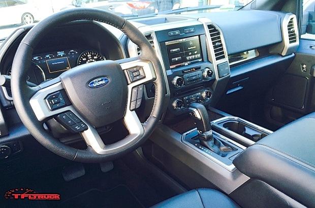 F 150 Platinum Interior