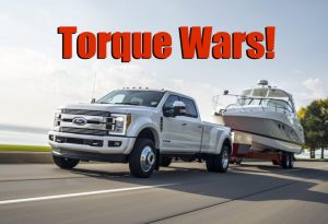 Torque Wars! 2018 Ford Super Duty Comes Out with Most Power, Torque, and Towing (News)  The
