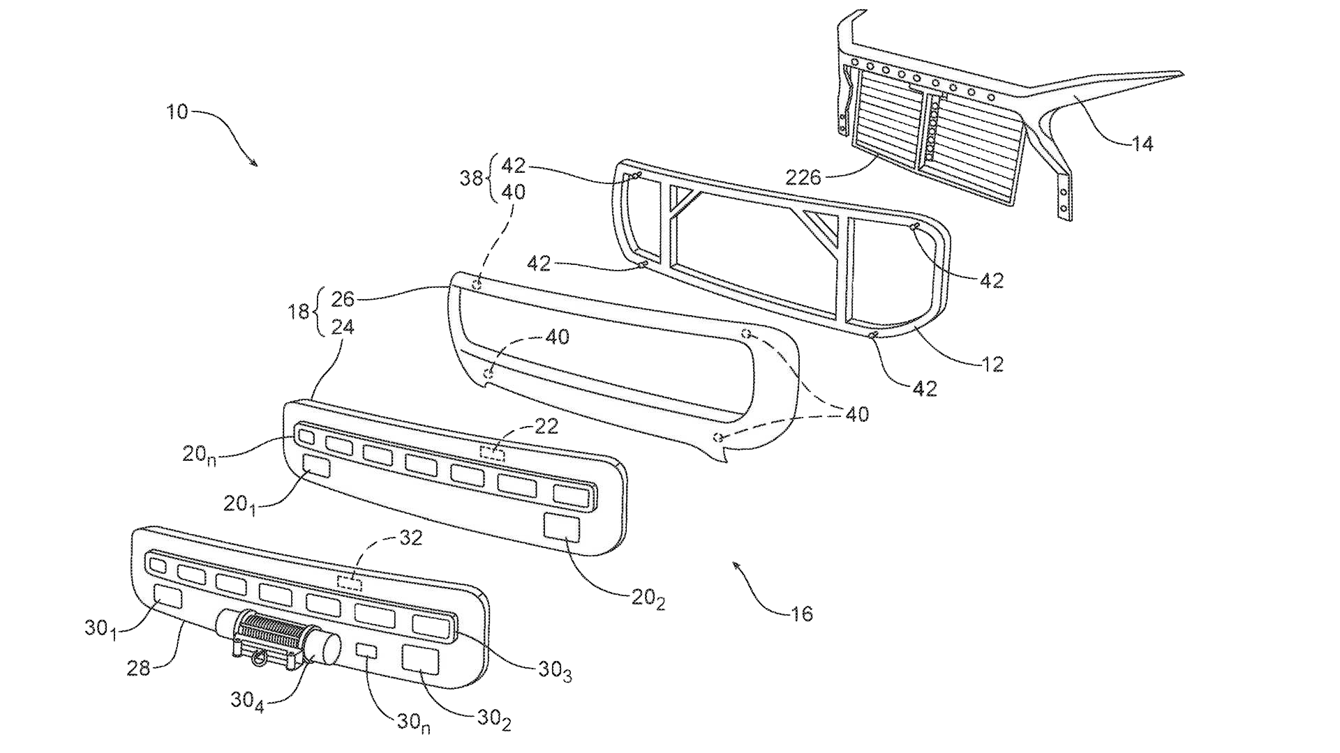 Ford Bronco Patents Grille