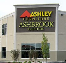 Ashley-Ashbrook Furniture Showroom