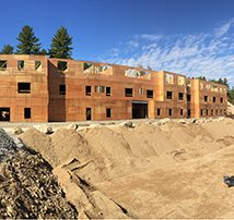 Construction is well underway for the boutique hotel at the Bedford Village Inn