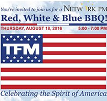 TFM hosts a Red, White & Blue Networking BBQ for the Greater Manchester Chamber of Commerce