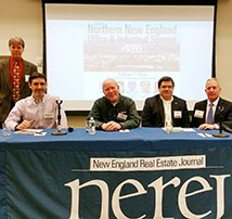 TFMoran's president, Robert Duval in panel discussion at the Northern New England Office & Industrial Summit