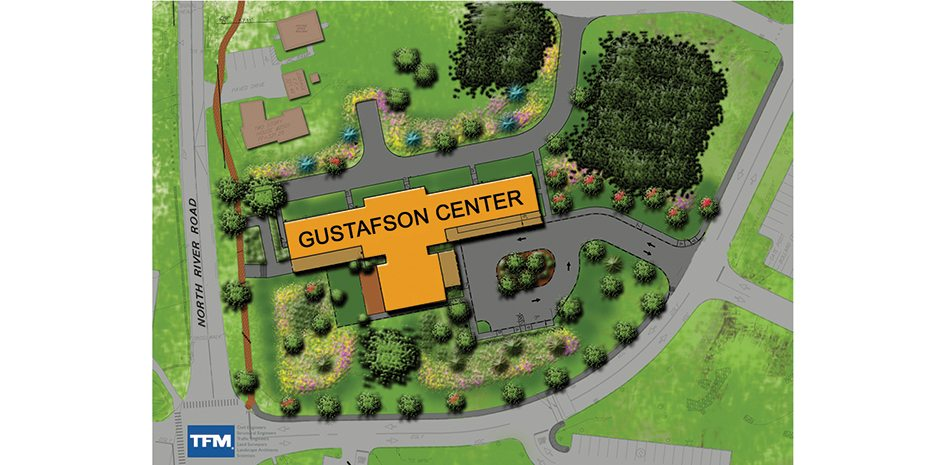 Southern New Hampshire University has a new Welcome Center across the street from what is now the main entrance. The Gustafson Center