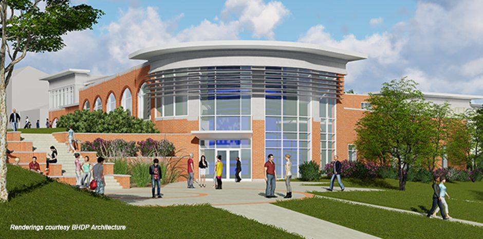 Saint Anselm Student Center Complex