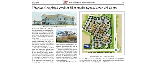 High-Profile Healthcare Facilities June 2017