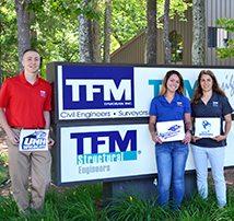 TFM Bedford Mentors 3 Interns for the Summer