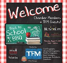 21 Years! TFM Hosts Manchester Chamber of Commerce August Network PM
