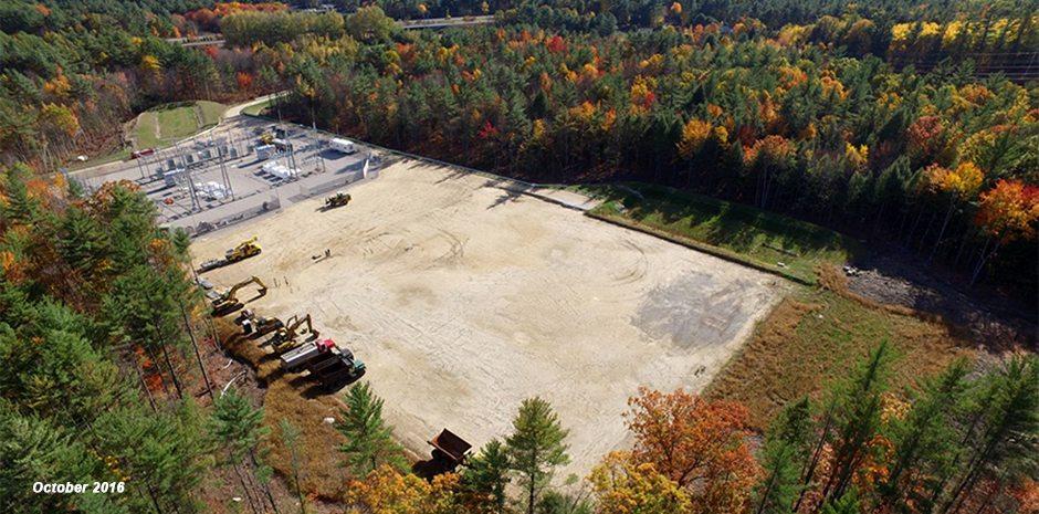 Unitil & Eversource Broken Ground Substation