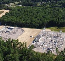 Unitil Broken Ground Substation & Eversource Curtisville Substation