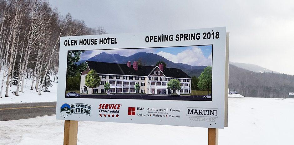 Glen House Hotel Mt Washington Auto Road, NH