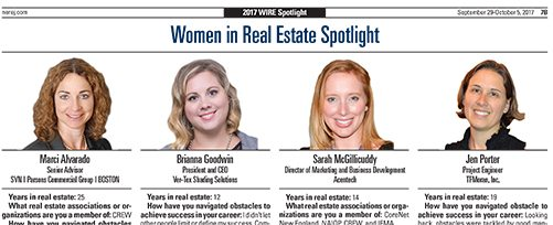 NEREJ Spotlight Women in Real Estate - TFMoran Project Engineer Jen Porter