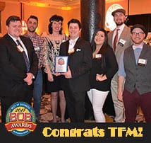 TFMoran Celebrates our 6th BOB Award!