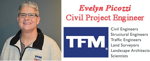Evelyn Picozzi, TFMoran Civil Project Engineer