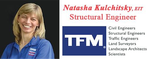 Natasha Kulchitsky, TFMoran Structural Engineer
