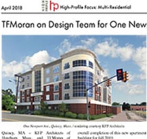 TFMoran's Quincy, MA Structural Project Featured in High-Profile's April Issue
