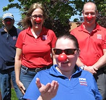 "TFMoran gets ""Noses On"" in support of Red Nose Day – May 24th"