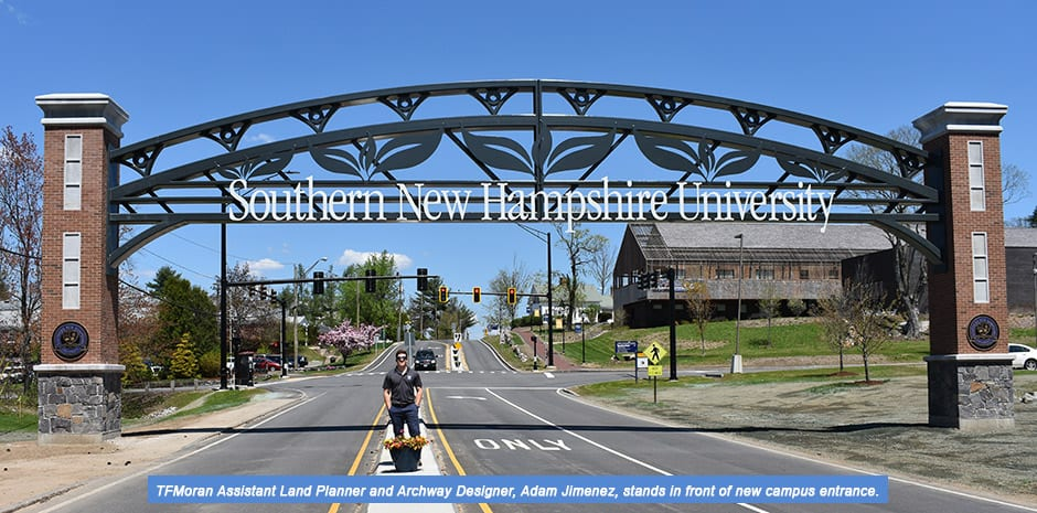 SNHU New Campus Entrance & Archway