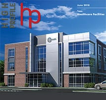TFM Structural project, Circle Health, featured in June issue of High-Profile