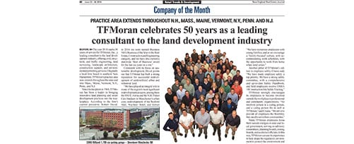 TFMoran NE RE Journal's Company of the Month June 2018