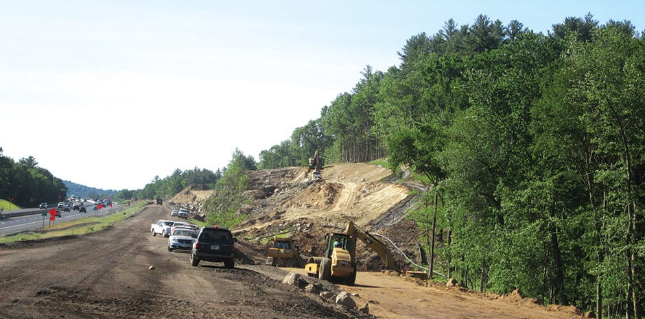 NHDOT I-93-Corridor Widening Project