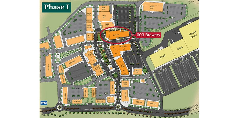 Woodmont Commons - mixed-use development in Londonderry, NH