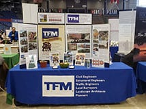 TFMoran meets Engineering Students at UNH Career Fair