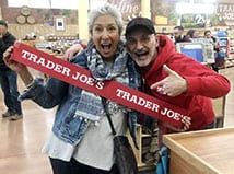 Ribbon cutting at Trader Joe's at Market and Main