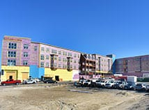 Construction is well under way at Woodmont Commons