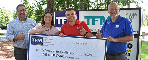 TFMoran contributes to Children's Scholarship Fund