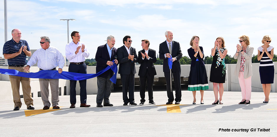 SNHU Parking Garage Ribbon Cutting