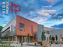 High-Profile's September Issue features TFMoran's SNHU project