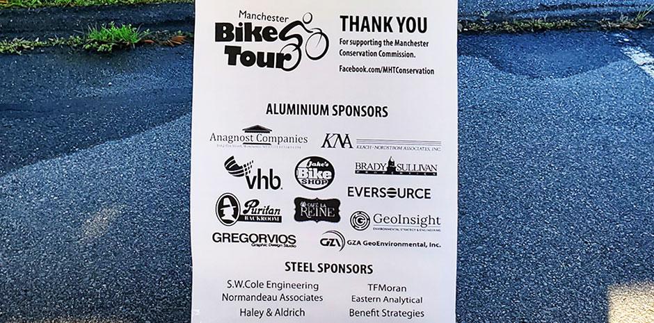 2019 Manchester Bike Tour Sponsors