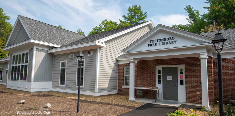 TFMoran Structural Design Tuftonboro NH Library
