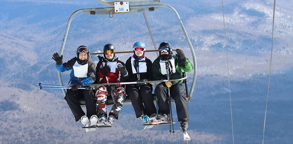 TFMoran at Ski-a-thon Waterville Valley