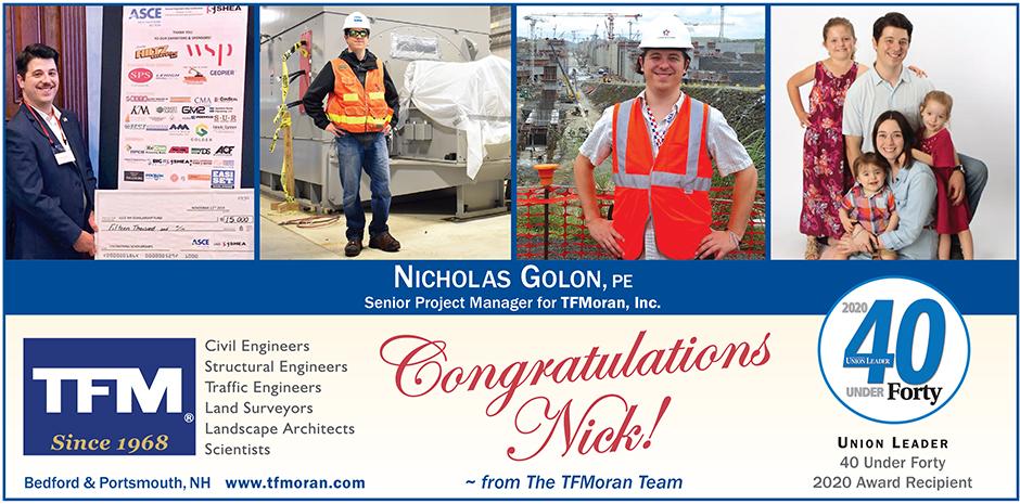 Nick Golon, PE TFMoran Senior Project Manager